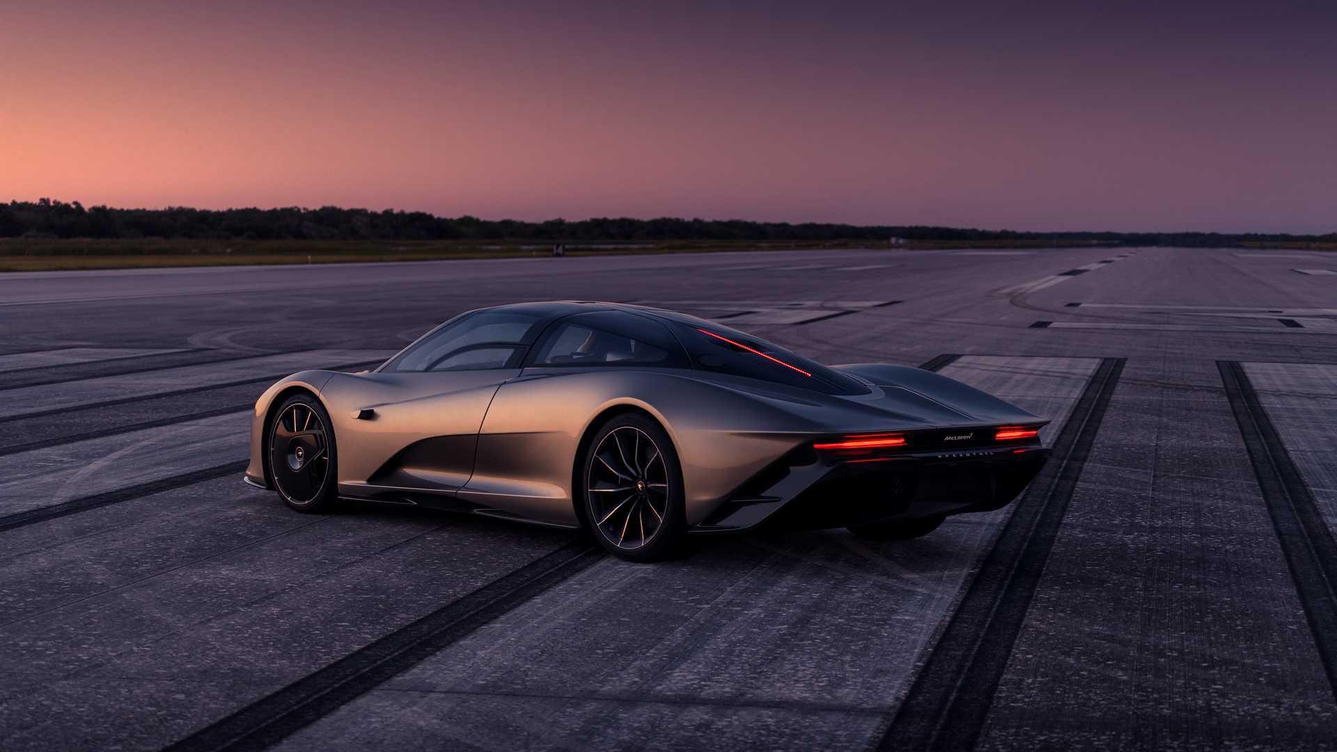 McLaren reveals Speedtail electric secrets