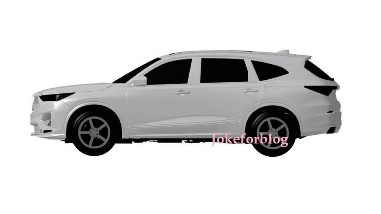 2020 Acura MDX Sızıntı Patent Görüntüleri