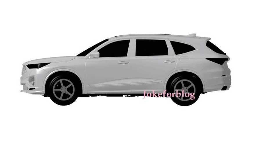 2020 Acura MDX'in de patent görüntüleri sızdırıldı