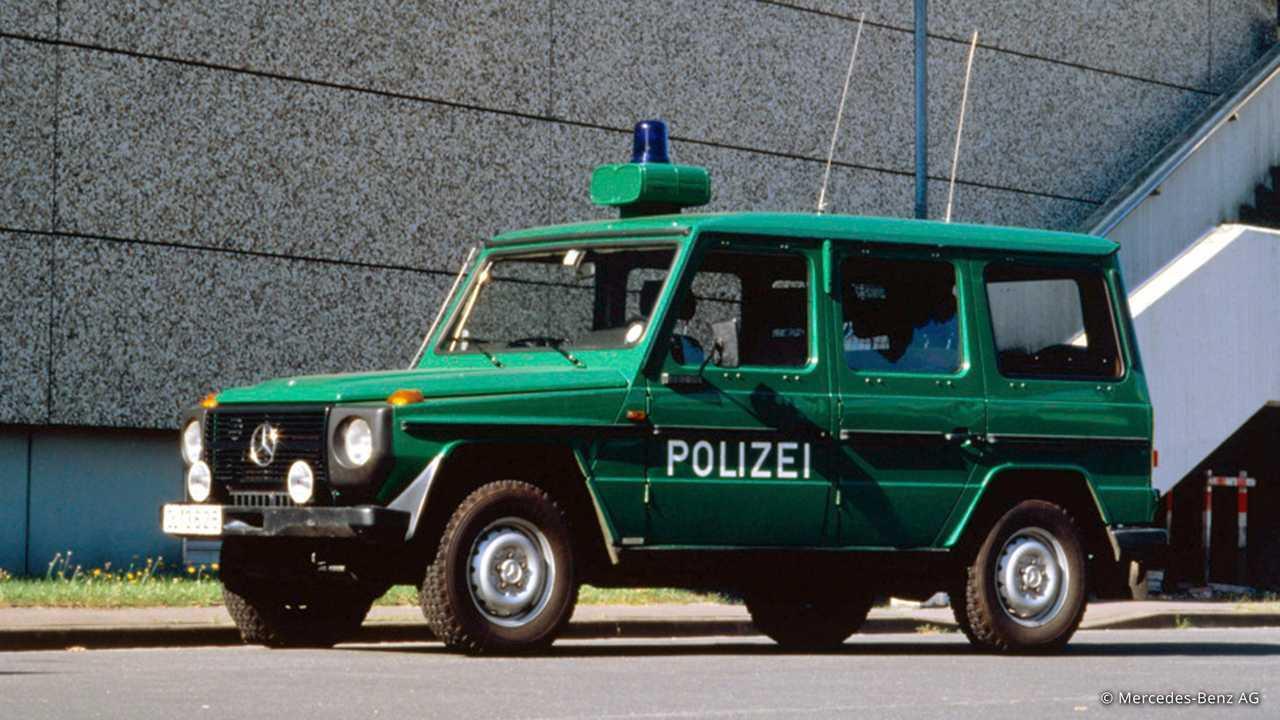 Historische Polizeifahrzeuge in Deutschland: Mercedes G