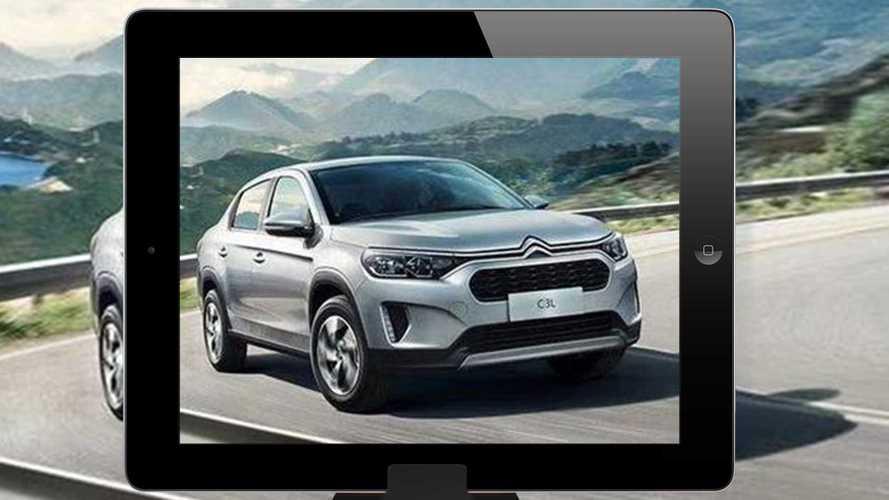 Vazou: Citroën C3 vai entrar na onda dos sedãs aventureiros