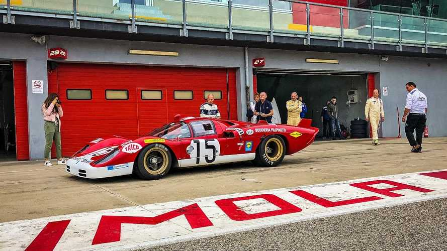 Watch: Iconic sportscars unleashed around Imola