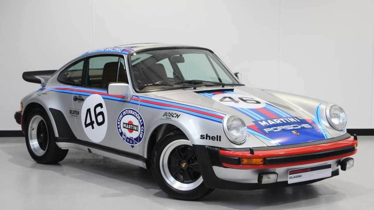 Classics for sale: 1977 Porsche 911 Turbo in Martini livery