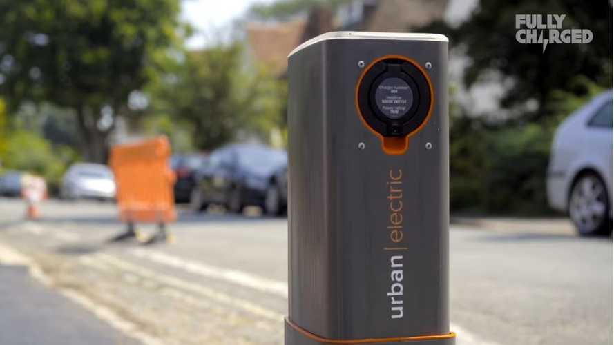 These Pop-Up Public Charging Points By Urban Electric Are Pretty Neat