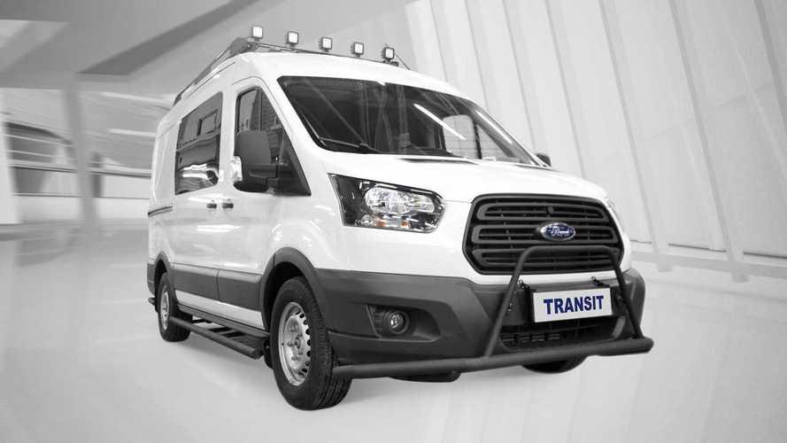 Ford Transit для охоты и рыбалки