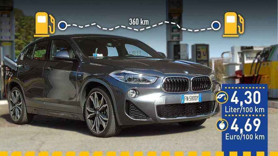 Tatsächlicher Verbrauch: BMW X2 xDrive 25d im Test