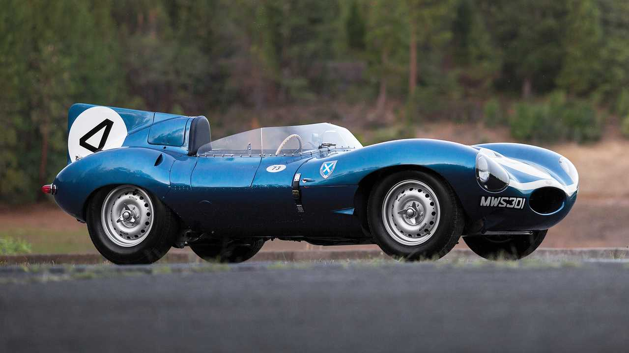Jaguar D-Type (1955)  – 19,2 миллиона евро