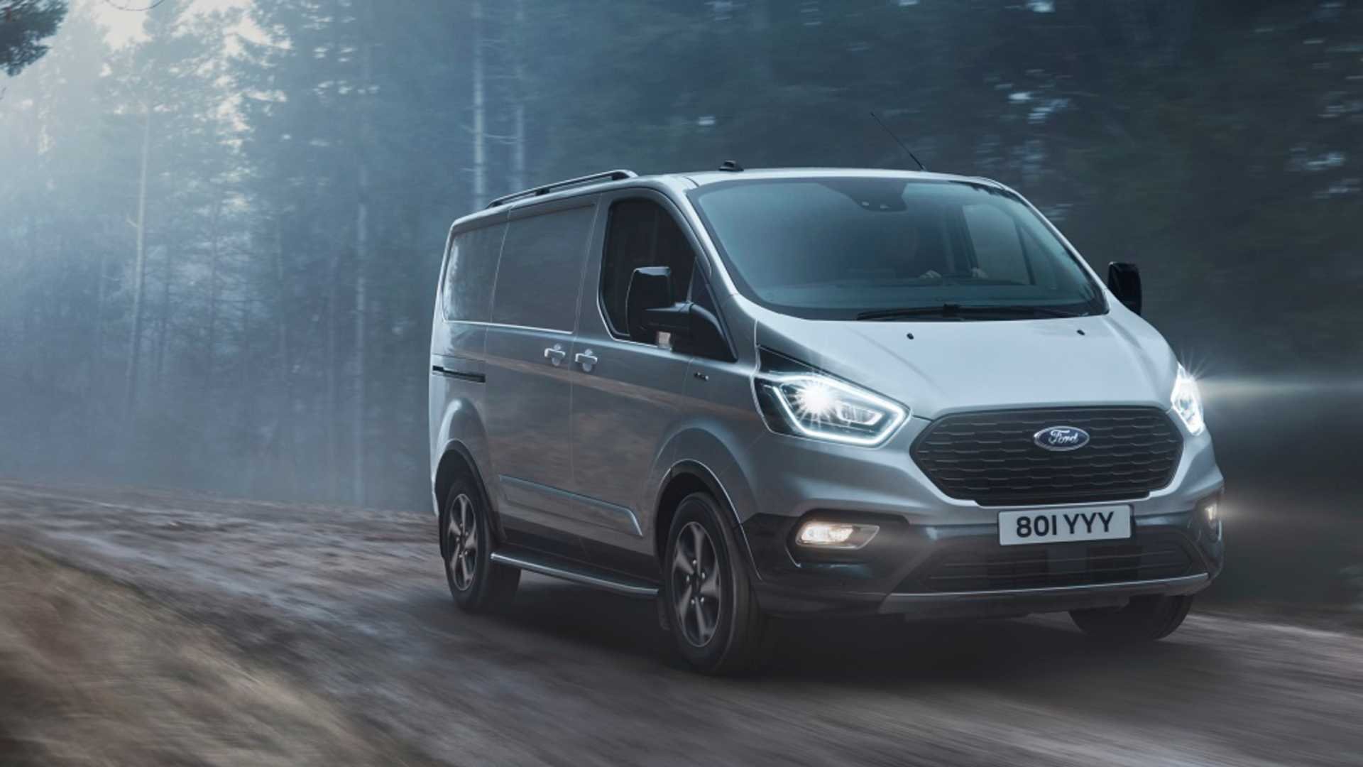 European Ford Transit S New Trail Model Has Raptor Inspired Grille
