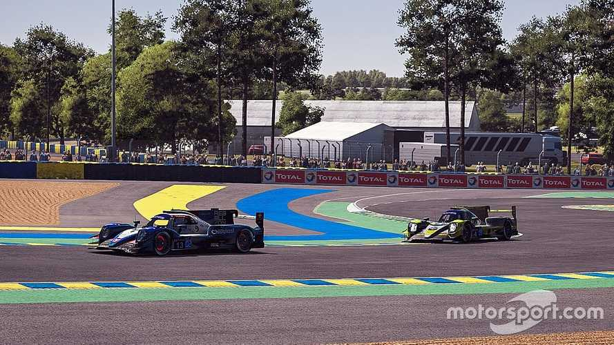 Alonso fue el más rápido de los pilotos profesionales en Le Mans, pese a todo
