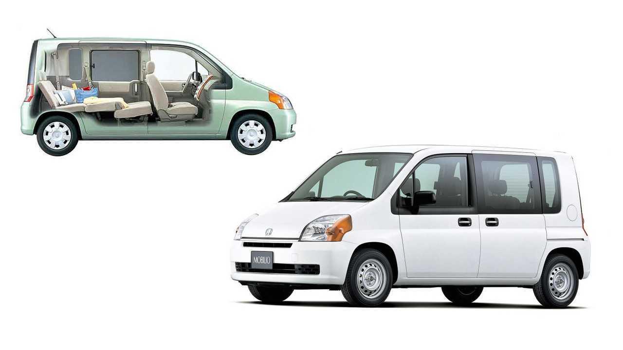 5 место – Honda Mobilio: 4050 мм в длину