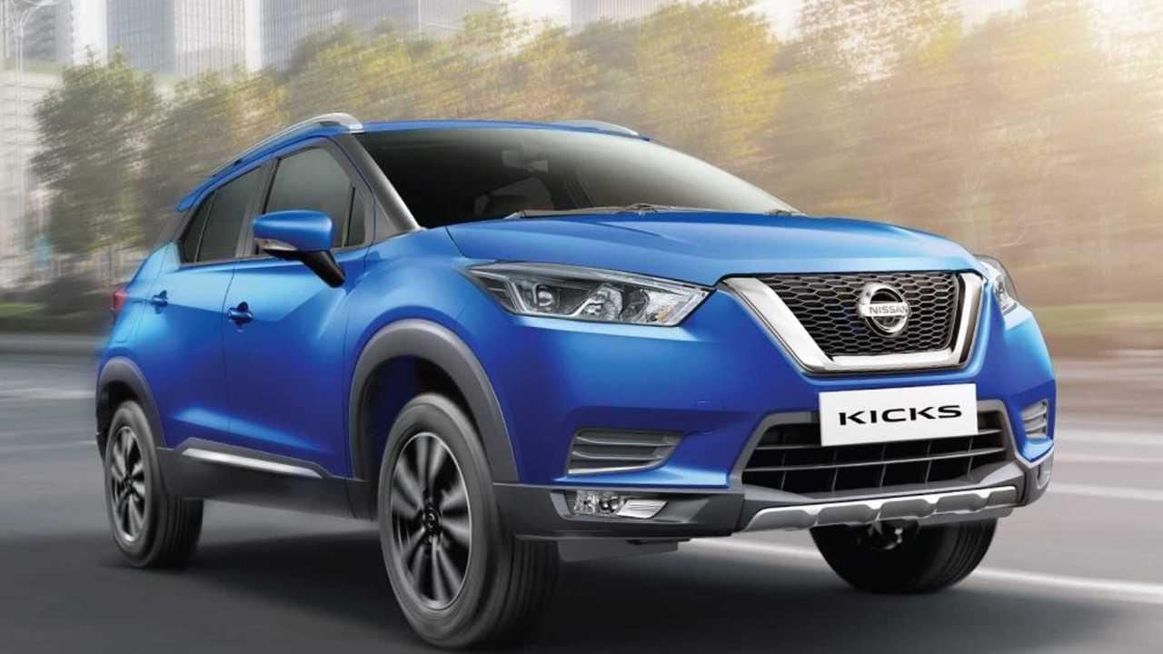 Обновленный Nissan Kicks для Индии