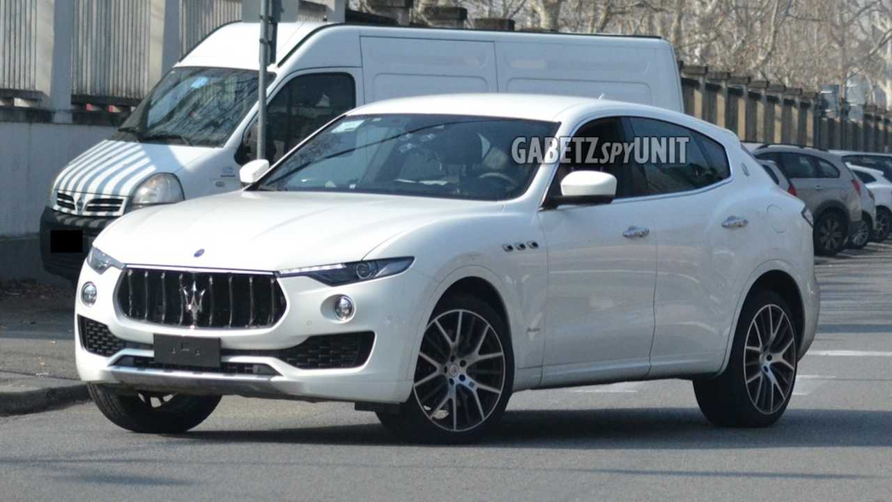 Maserati Levante Facelift Spy Shots