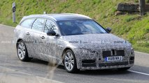 jaguar xf facelift spied