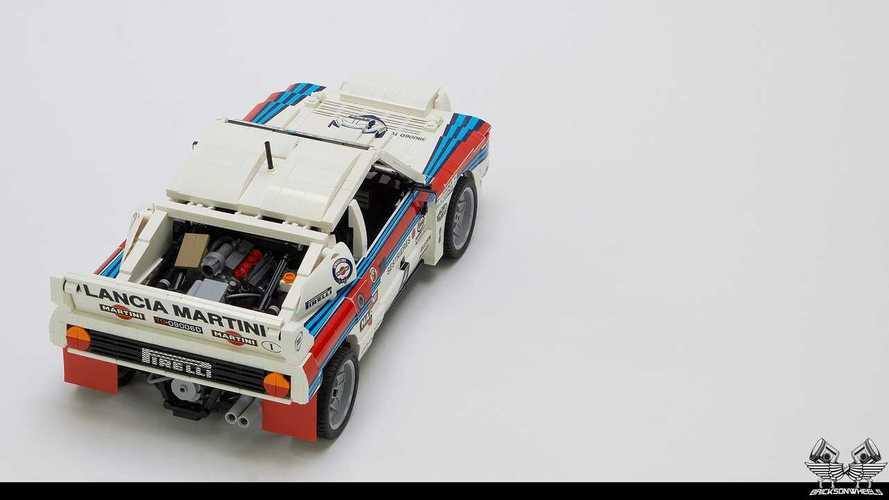 Lancia Delta y Lancia 037 Martini de Lego