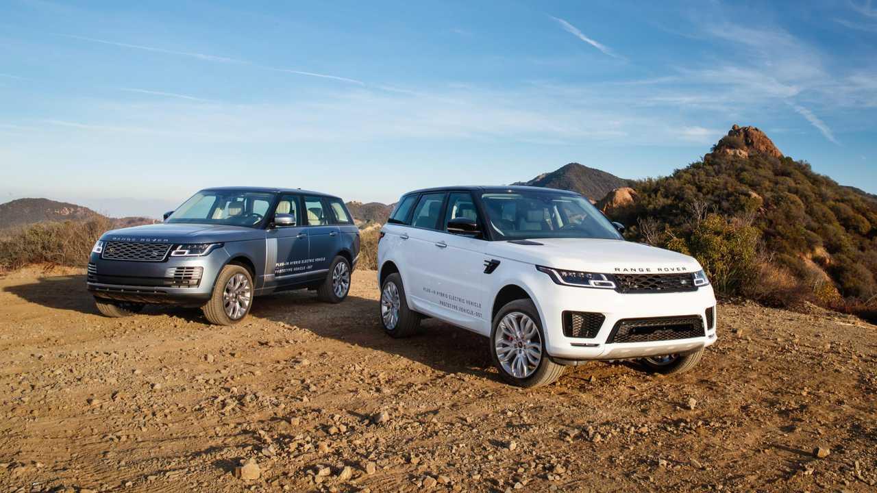 Range Rover and Range Rover Sport PHEV