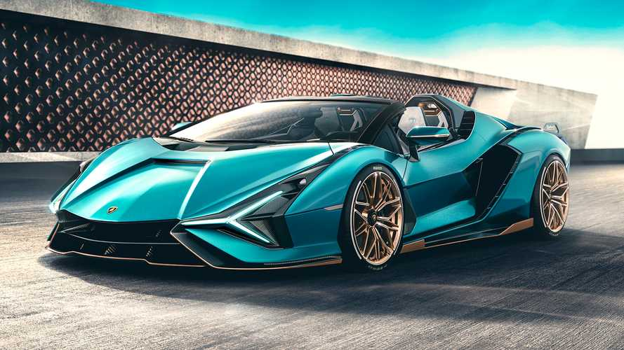 Lamborghini debuts super rare, super powerful Sian Roadster