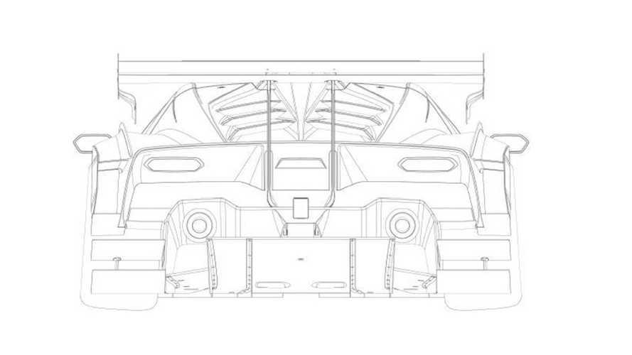 Lamborghini SCV12 – патентные изображения