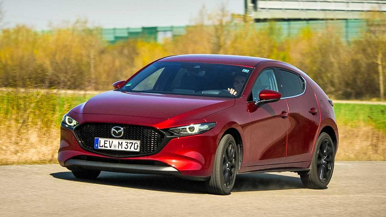 Mazda 3 Skyactiv-X im Motor1-Dauertest