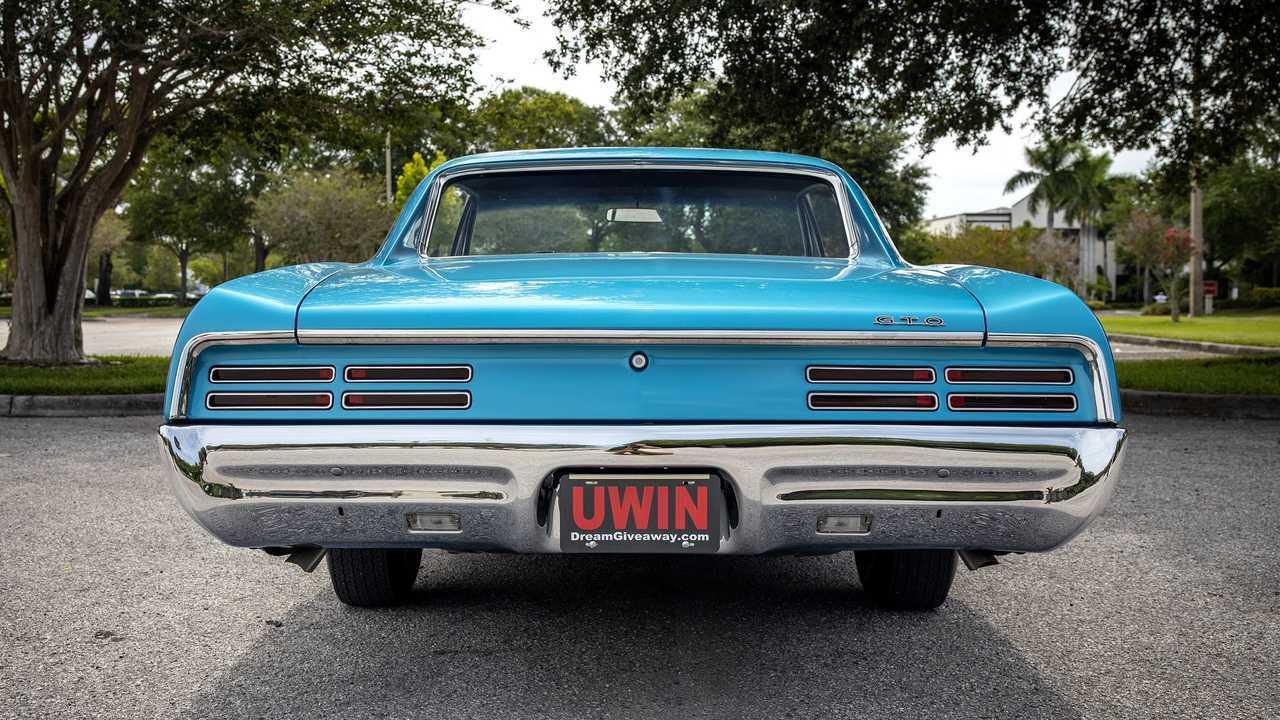 Enter To Win This Restored 1967 Pontiac Gto Plus 13 500 Cash