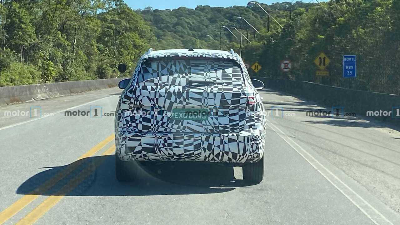 Volkswagen Tarek - Flagra no Brasil