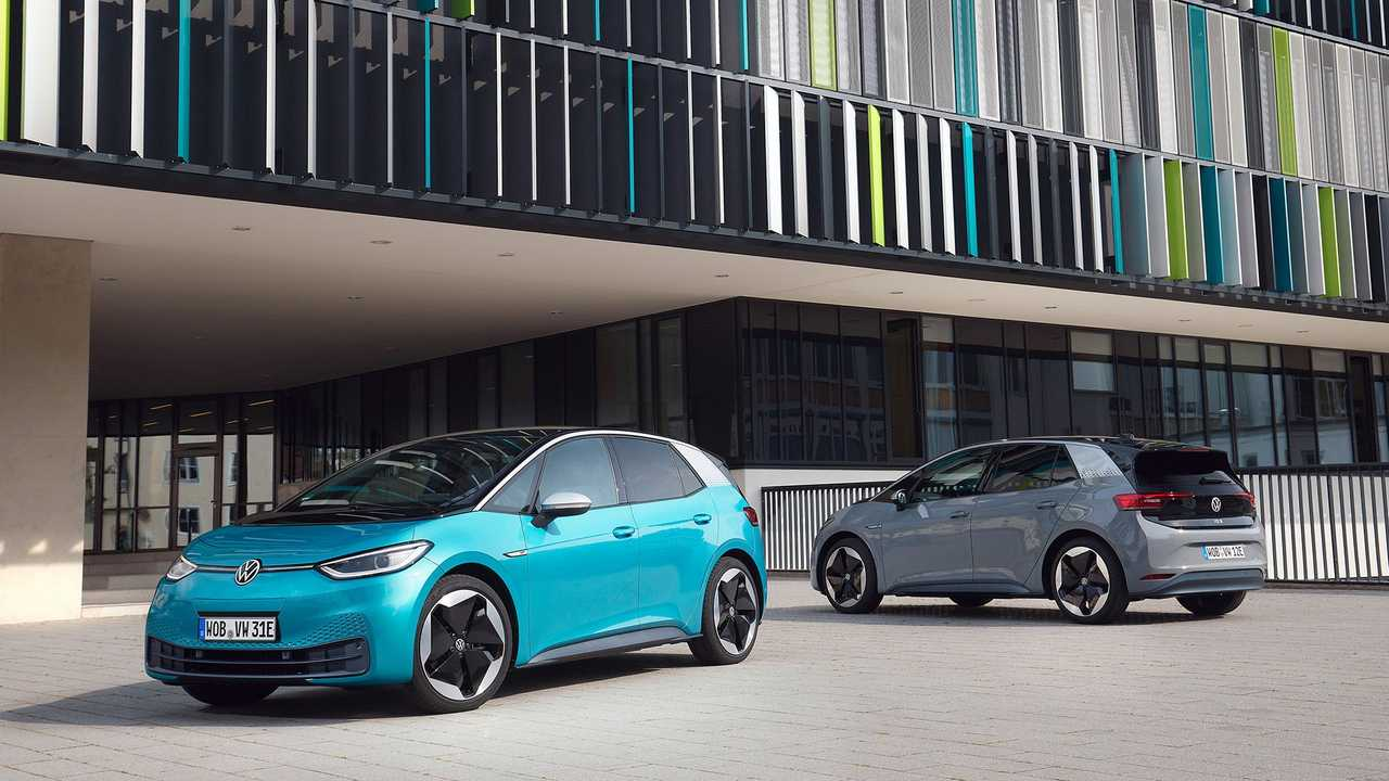 Первый тест Volkswagen ID.3