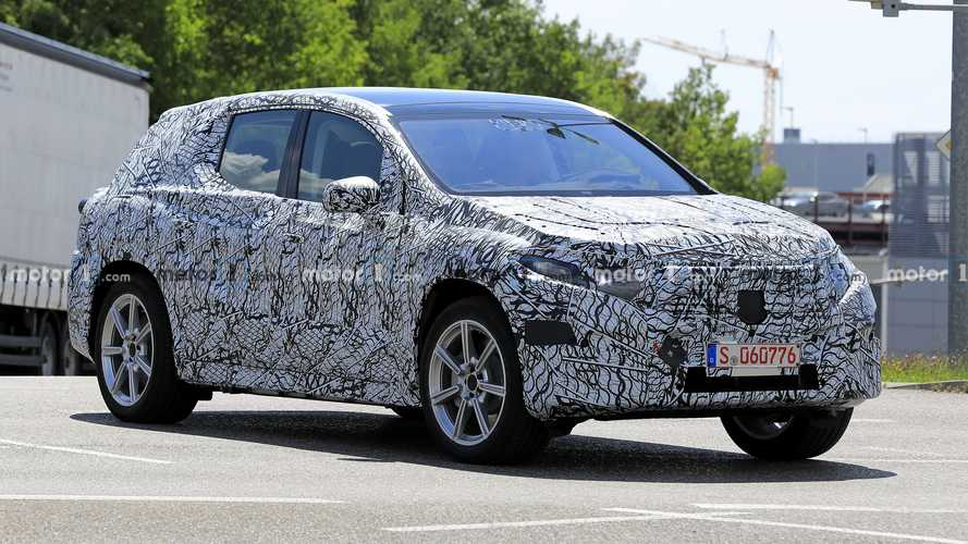 Mercedes EQC spied already getting ready for new generation
