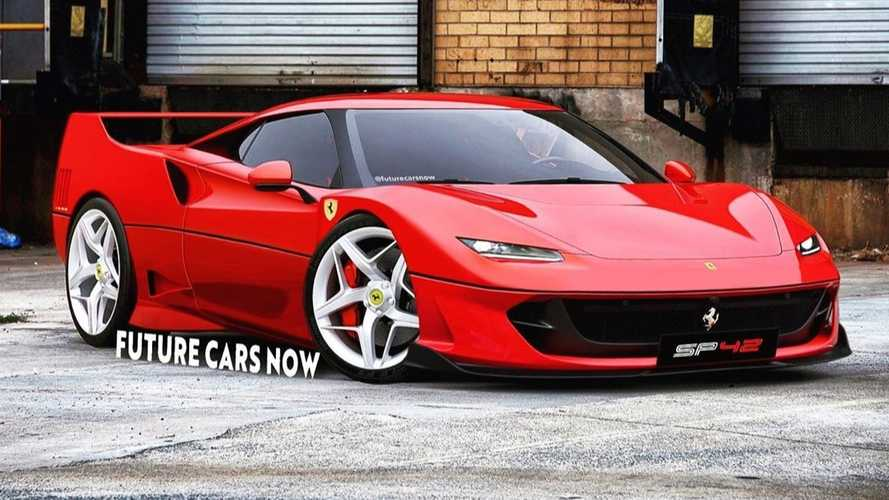 Ferrari F40-Inspired One-Off Rendered Based On SF90