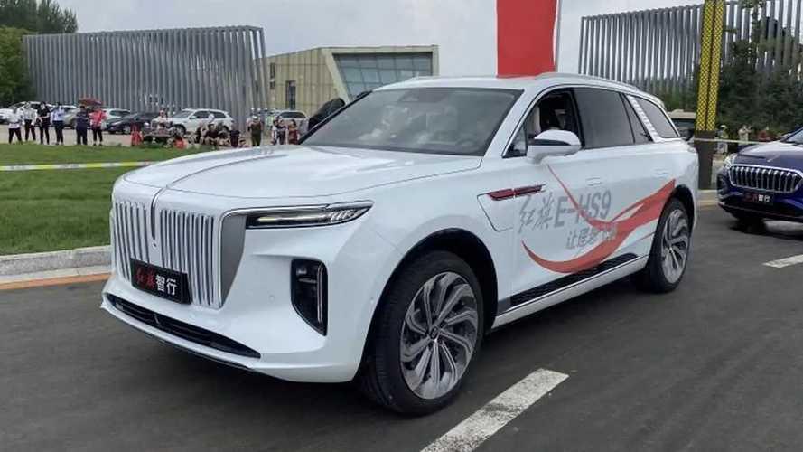 Hongqi e-HS9, SUV Premium électrique chinois