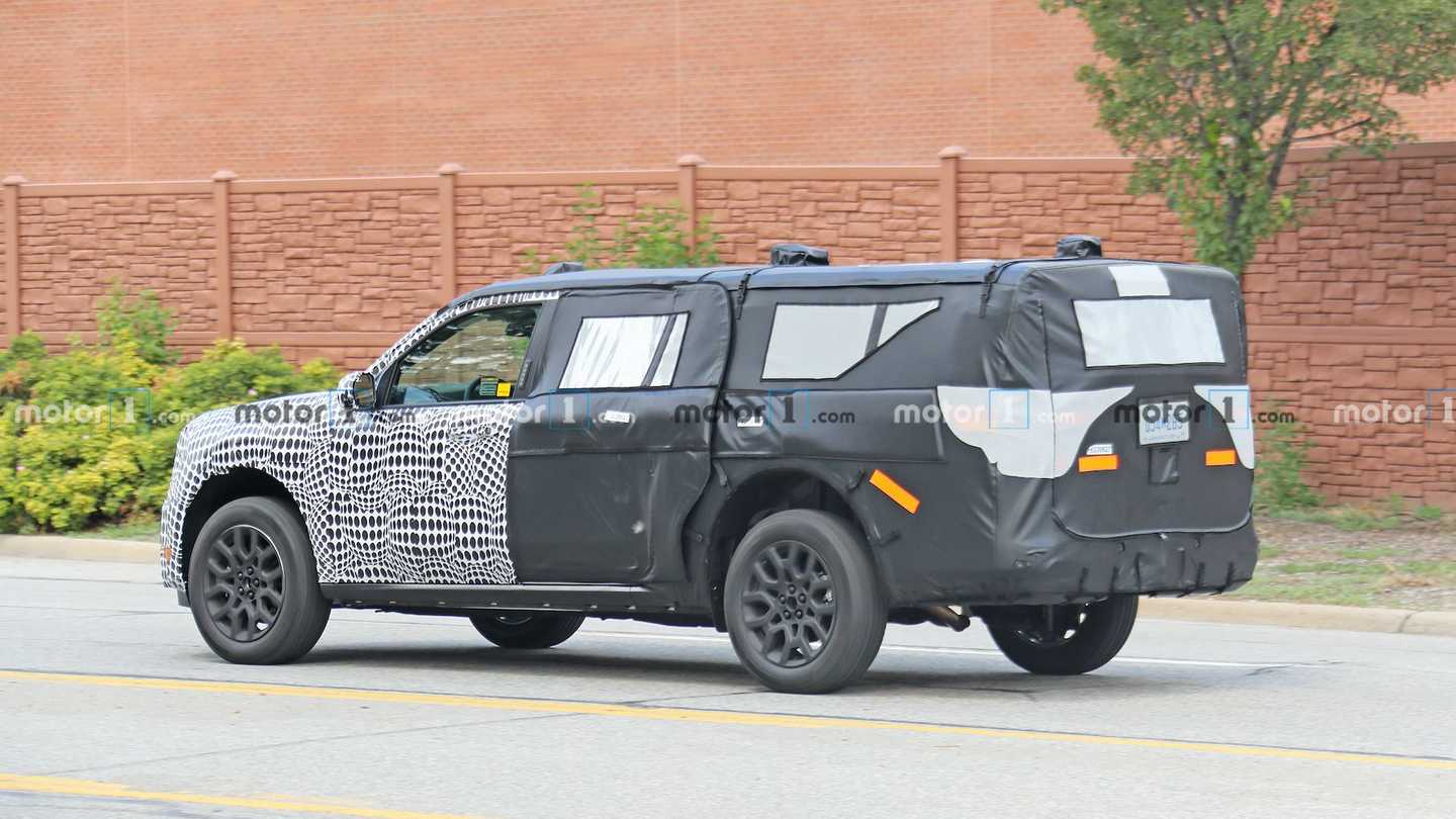 Ford Mystery SUV caught testing in Michigan