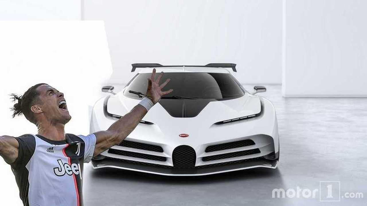 Bugatti Centodieci x Ronaldo