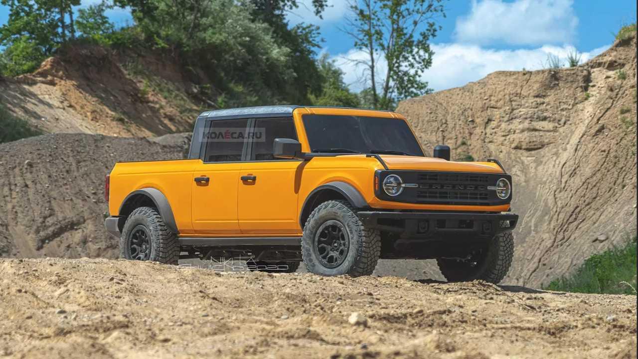 Ford Bronco Truck Rendering