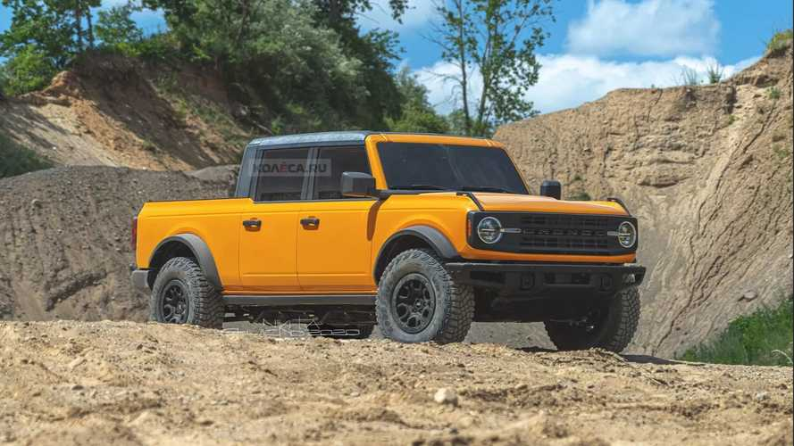 Ford Bronco Pickup Truck Rendering Predicts The Inevitable