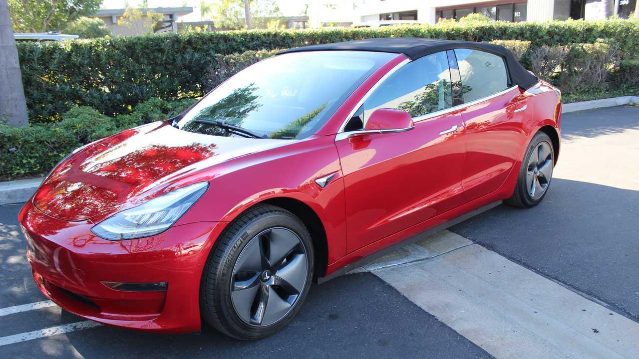Tesla Model 3 Covertible