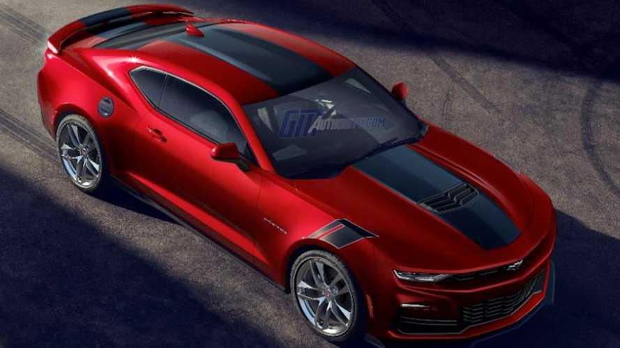2021 Chevy Camaro Wild Cherry First Image Surfaces