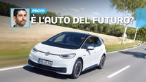 volkswagen id3 prova test drive video 2020