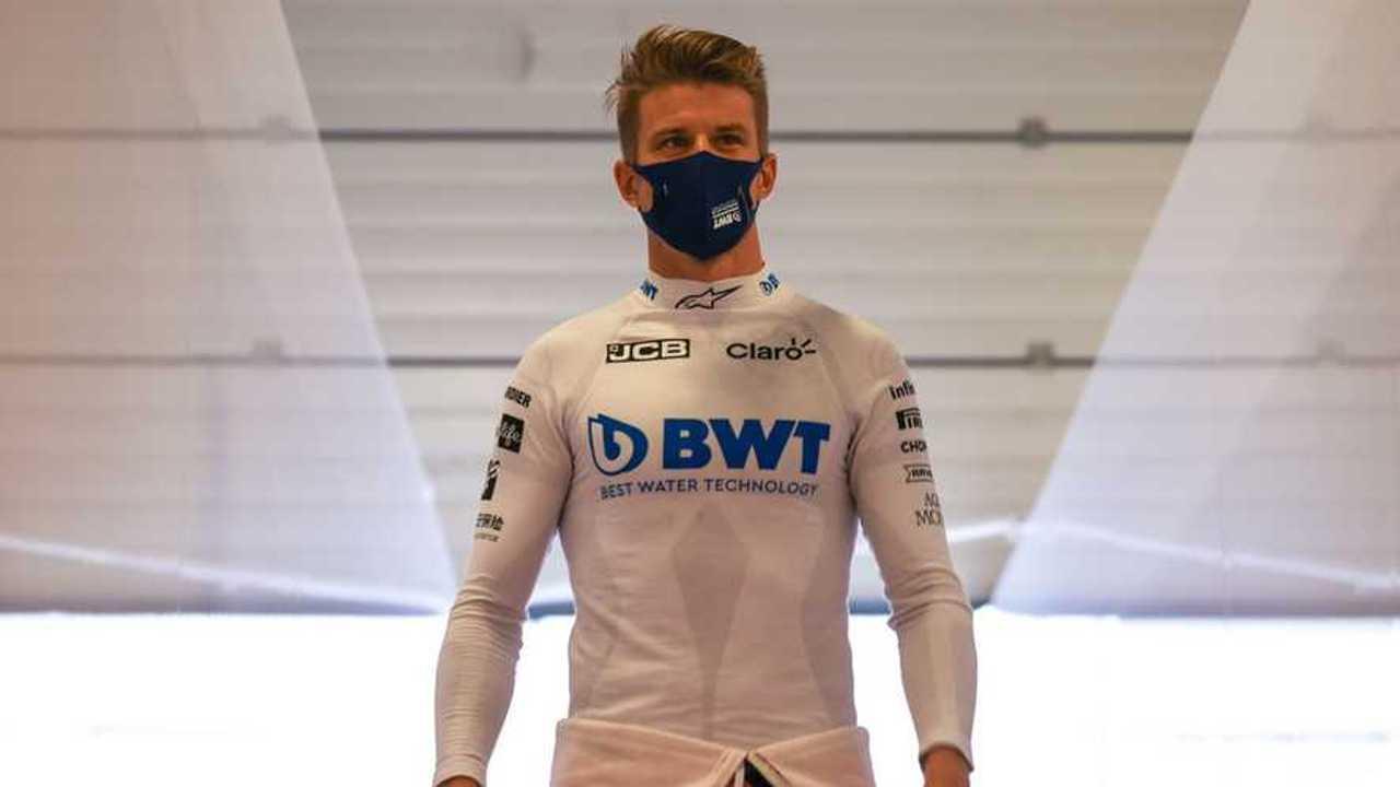 Nico Hulkenberg at British GP 2020
