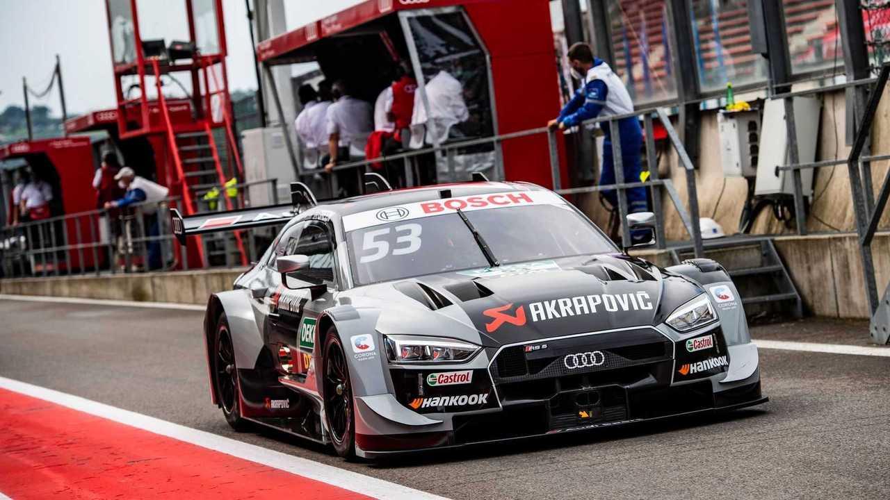 Audi DTM - pit stop
