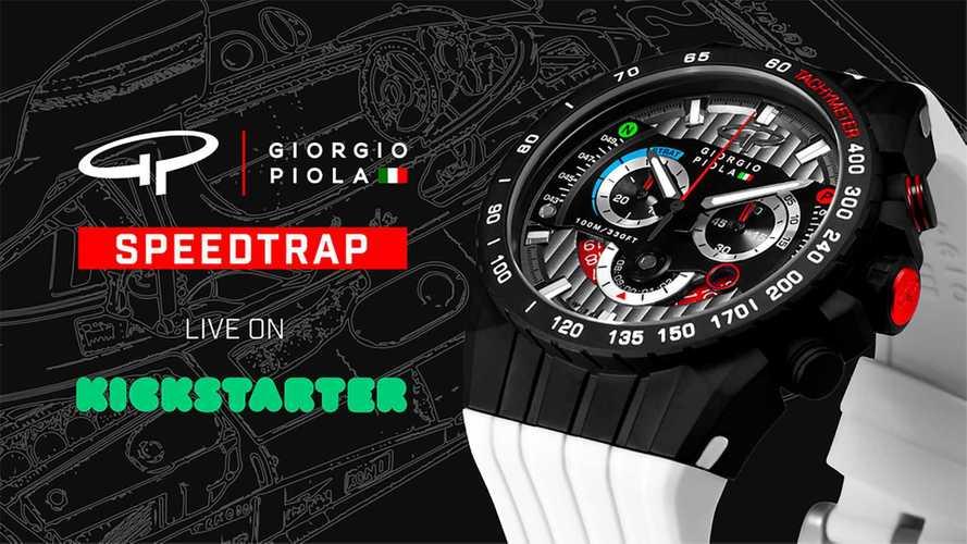 Часы в стиле F1 от Джорджо Пиолы могут стать вашими всего за $400