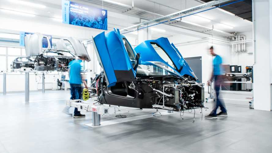 Rimac C_Two Prototype Production Speeds Up With Second Assembly Line