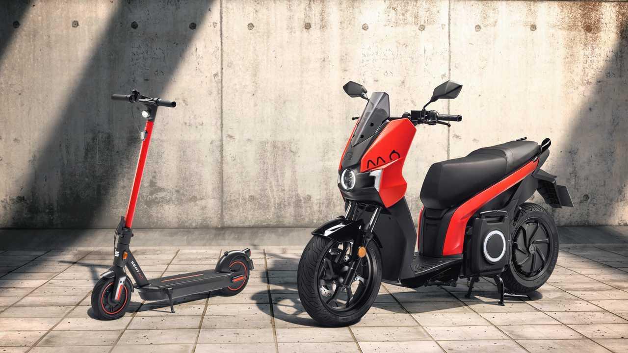SEAT MÓ eScooter 125 y SEAT MÓ eKickScooter 65