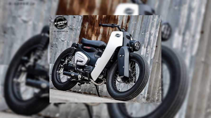 Dieselpunk Meets Step-Through Style In The Tokyo Street Honda Super Cub