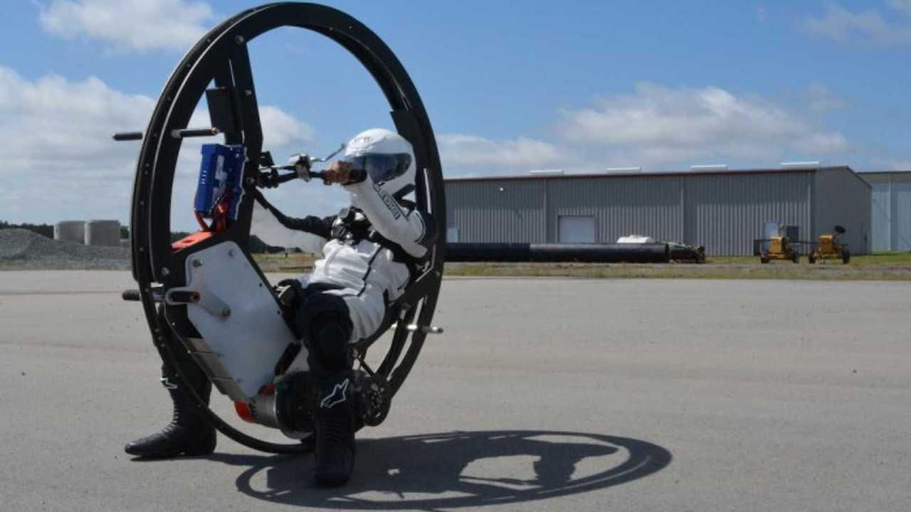 Duke EV360 monowheel