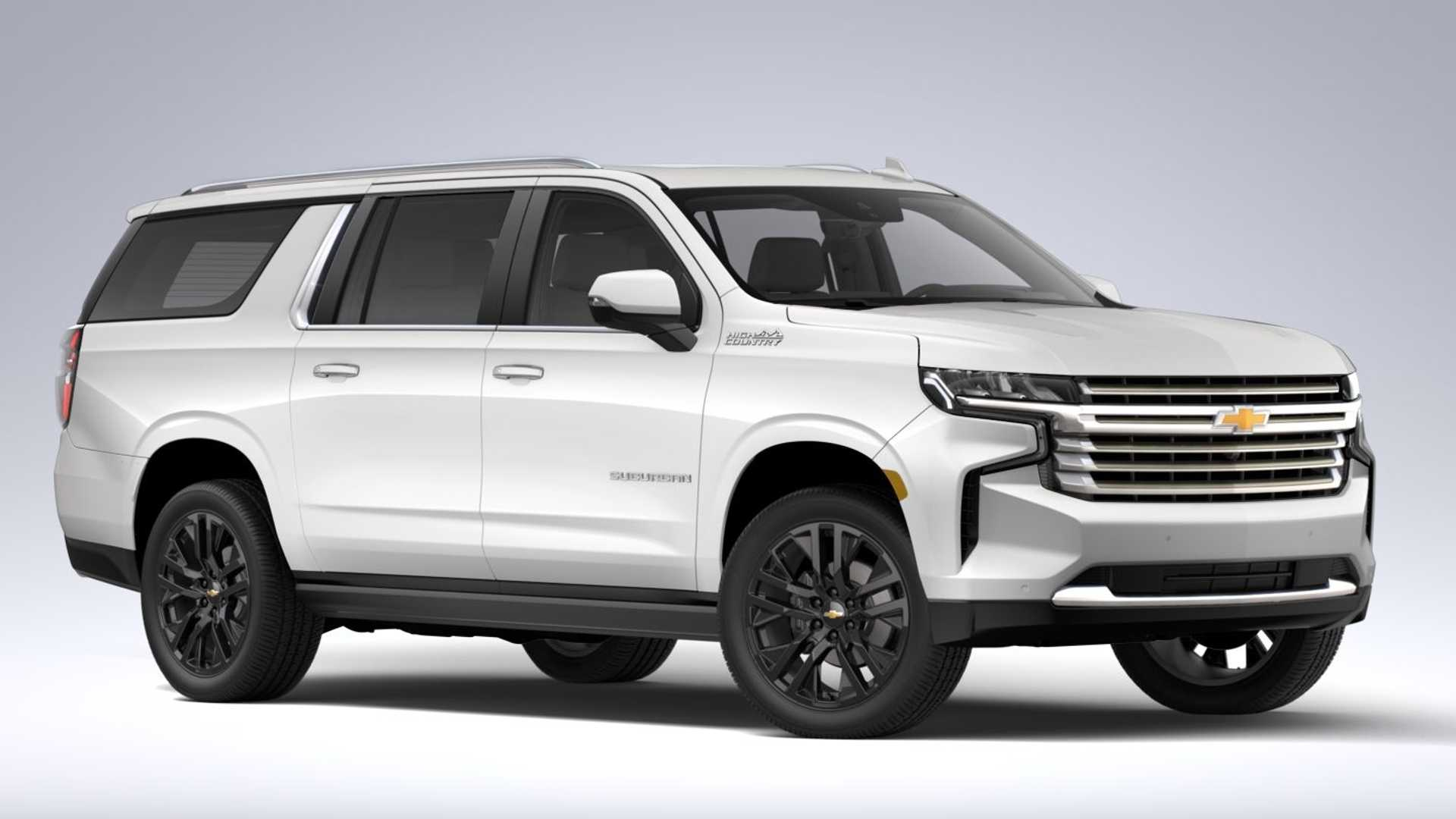 most expensive 2021 chevy suburban costs 86465