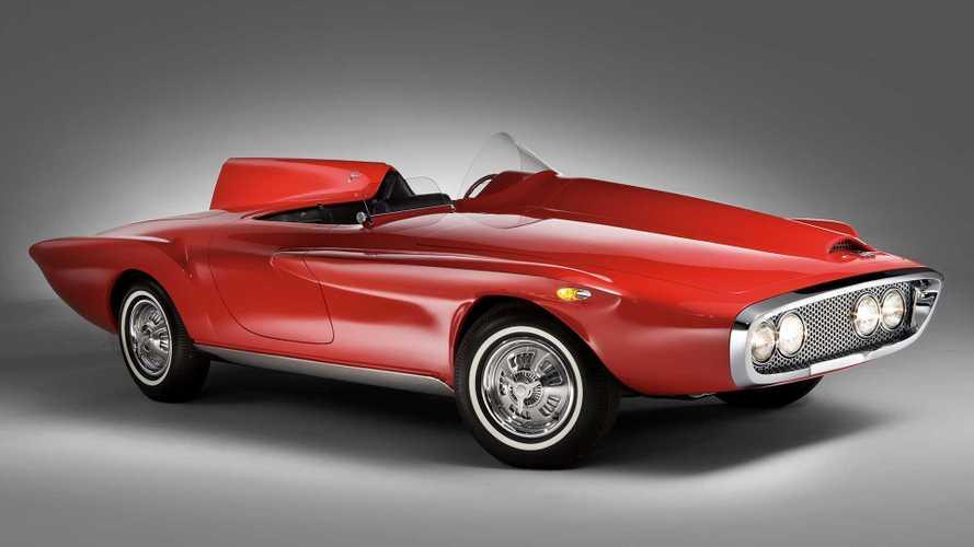 Prototipos olvidados: Plymouth XNR Concept (1960)