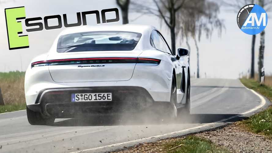 Porsche Got Taycan's Augmented Driving Sounds Right: It Whooshes And Whirs