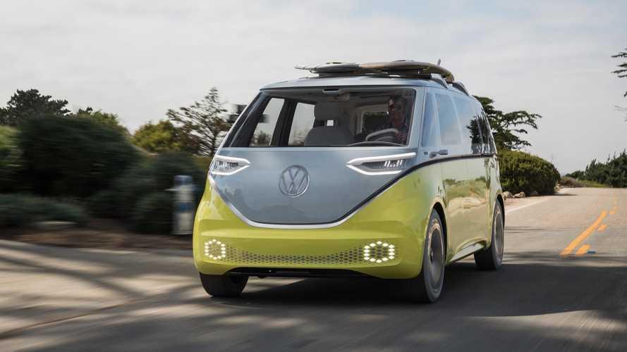 Kombi elétrica: VW registra o nome e-Samba para o ID. Buzz de produção