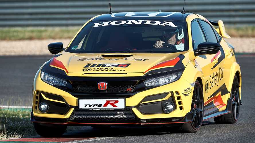 Honda Civic Type R Limited Edition, Safety Car ufficiale WTCR 2020
