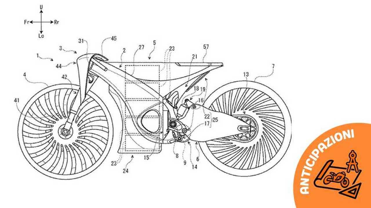 Suzuki brevetto moto elettrica 2020