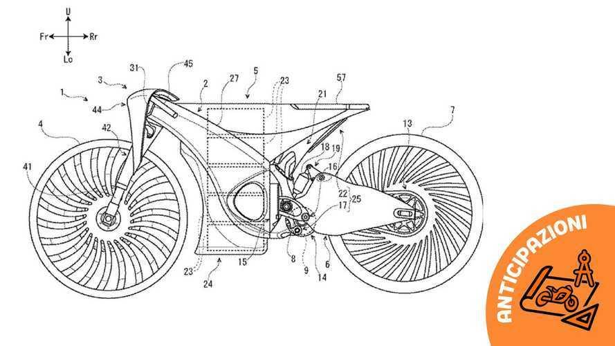 Suzuki brevetta la moto elettrica modulare