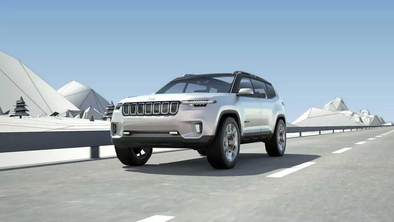 Jeep представил свой первый гибридный кроссовер